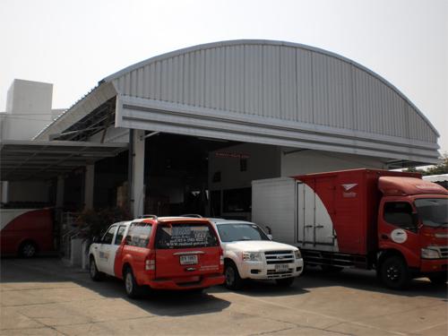 งานปรับปรุงอาคารที่ทำการไปรษณีย์ ยานนาวา เขตยานนาวา กรุงเทพมหานคร บริษัทเก็บขยะติดเชื้อ