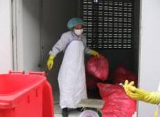 งานบริการเก็บขนและกำจัดขยะติดเชื้อ